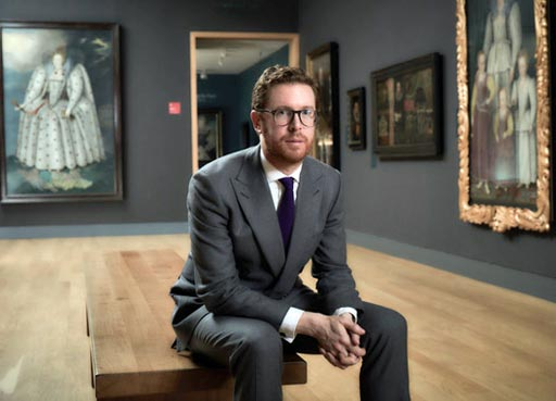 Organisation, Dr Nicholas Cullinan Director of National portrait Gallery