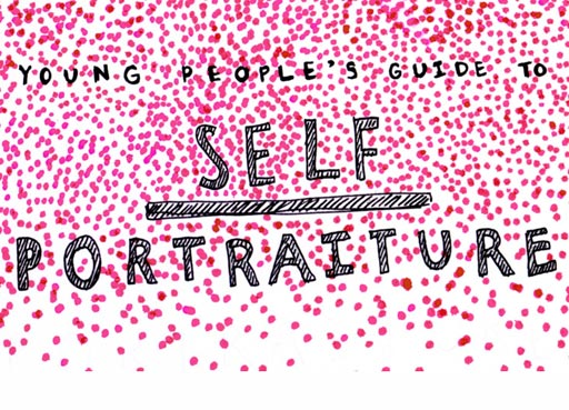 Young People guide to self portrait website