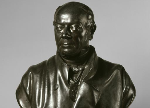 British bronze sculpture founders and plaster figure makers, 1800-1980, sculpture of William Bucklandby Elkington & Co, after Henry Weekes