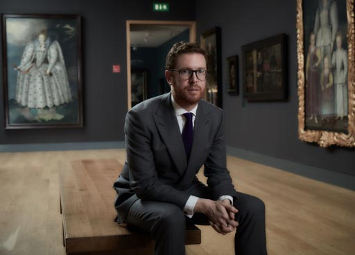 Director's Circle, Dr Nicholas Cullinan Director of National portrait Gallery