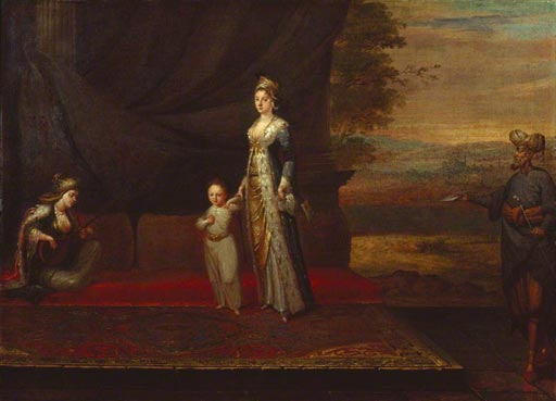 Thank you for your support, painting of Lady Mary Wortley Montagu with her son